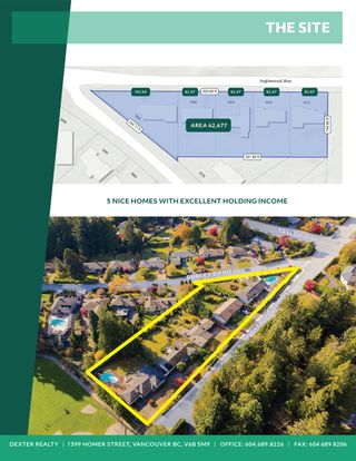 Photo 3: 4 Lot Land Assembly Listing in West Vancouver
