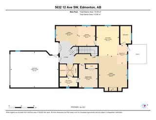 Photo 42: 5632 12 Avenue SW in Edmonton: Zone 53 House for sale : MLS®# E4236721