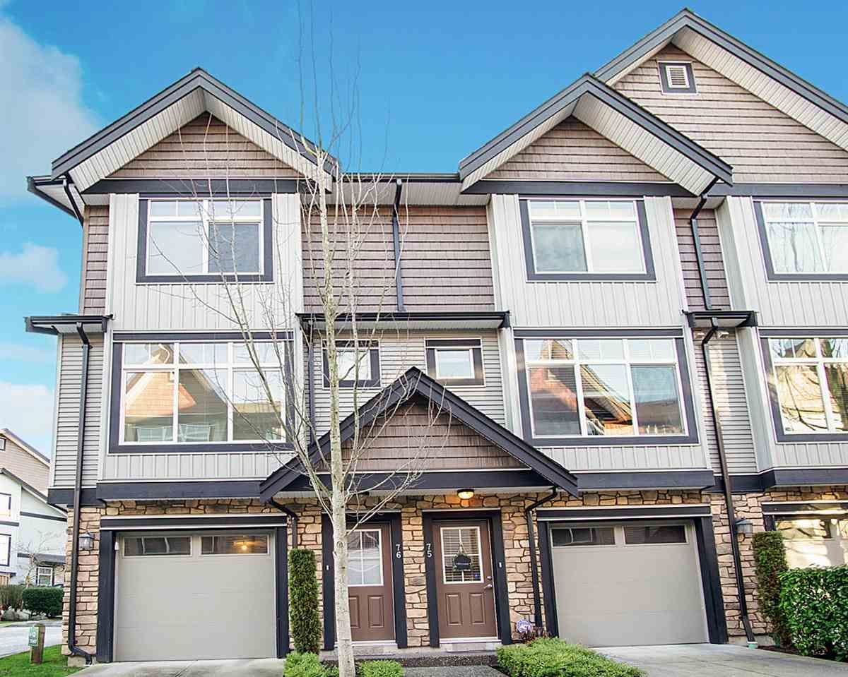 Main Photo: 76 6299 144 Street in Surrey: Sullivan Station Townhouse for sale : MLS®# R2530946