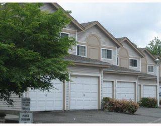 "Photo 1: 14 1328 BRUNETTE Avenue in Coquitlam: Maillardville Townhouse for sale in ""PLACE MALLARD"" : MLS®# V1078597"