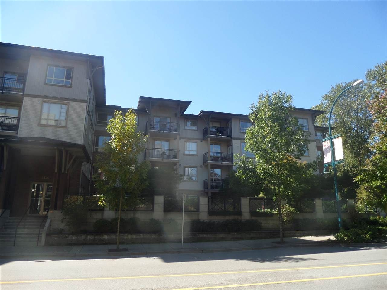 "Main Photo: 201 2346 MCALLISTER Avenue in Port Coquitlam: Central Pt Coquitlam Condo for sale in ""THE MAPLES AT CREEKSIDE"" : MLS®# R2110490"