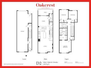 """Photo 2: 42 11556 72A Avenue in Delta: Scottsdale Townhouse for sale in """"Oakcrest"""" (N. Delta)  : MLS®# R2586621"""