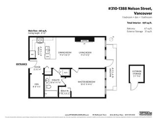 """Photo 24: 310 1388 NELSON Street in Vancouver: West End VW Condo for sale in """"Andaluca"""" (Vancouver West)  : MLS®# R2616916"""