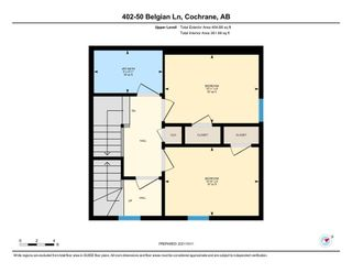 Photo 27: 402 50 Belgian Lane: Cochrane Row/Townhouse for sale : MLS®# A1153936