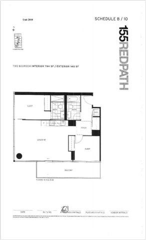 Photo 6: 2110 185 Roehampton Avenue in Toronto: Mount Pleasant West Condo for lease (Toronto C10)  : MLS®# C4011861