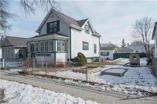 Photo 2: 891 Ashburn Street in Winnipeg: West End Residential for sale (5C)  : MLS®# 1807691