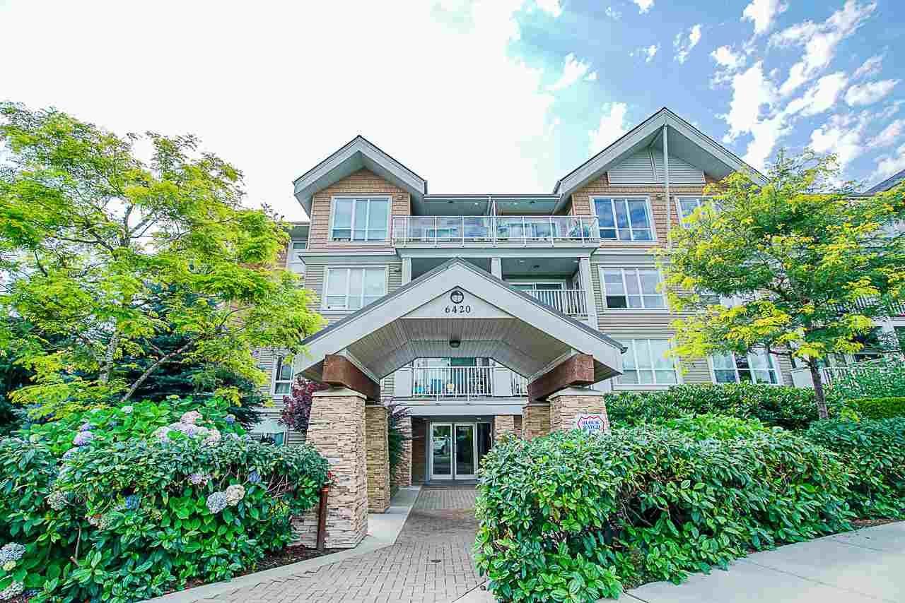 "Main Photo: 311 6420 194 Street in Surrey: Clayton Condo for sale in ""Waterstone"" (Cloverdale)  : MLS®# R2560363"