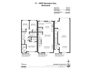"""Photo 35: 17 10999 STEVESTON Highway in Richmond: McNair Townhouse for sale in """"Ironwood Gate"""" : MLS®# R2599952"""