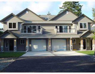 Photo 1: 1015B THOMAS Avenue in Coquitlam: Maillardville 1/2 Duplex for sale : MLS®# V683259