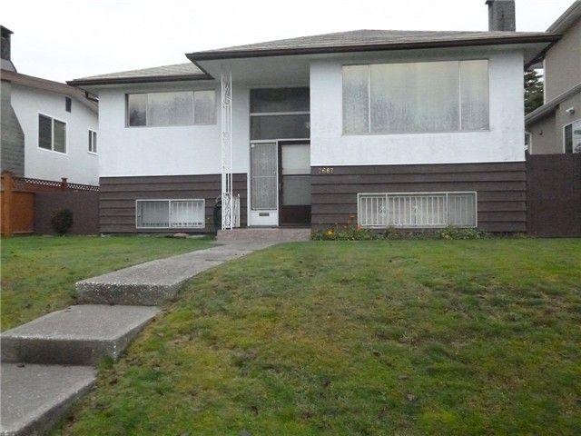 Main Photo: 2687 E 48TH AV in Vancouver: Killarney VE House for sale (Vancouver East)  : MLS®# V1035370