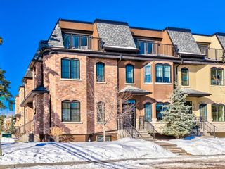 Main Photo: 3379 Erlton Street SW in Calgary: Erlton Row/Townhouse for sale : MLS®# A1076116
