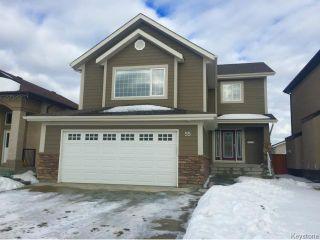 Photo 1: 55 Haverhill Crescent in WINNIPEG: Windsor Park / Southdale / Island Lakes Residential for sale (South East Winnipeg)  : MLS®# 1501664