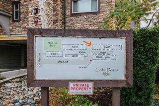 "Photo 40: 406 12635 190A Street in Pitt Meadows: Mid Meadows Condo for sale in ""CEDAR DOWNS"" : MLS®# R2539062"