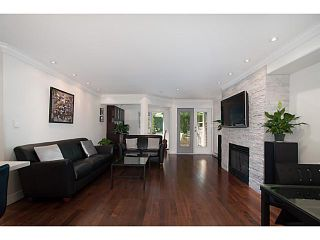 """Photo 3: 108 1823 W 7TH Avenue in Vancouver: Kitsilano Townhouse for sale in """"THE CARNEGIE"""" (Vancouver West)  : MLS®# V1073495"""