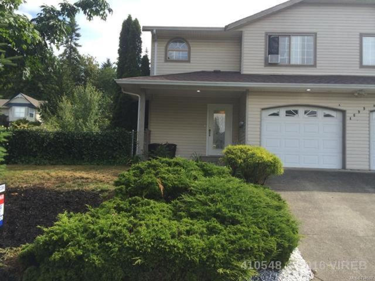 Main Photo: A 4699 SHETLAND PLACE in COURTENAY: CV Courtenay East Half Duplex for sale (Comox Valley)  : MLS®# 734537