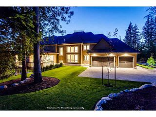 Photo 20: 2030 RIDGE MOUNTAIN Drive: Anmore Land for sale (Port Moody)  : MLS®# V1117326