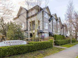 "Main Photo: 11 7140 RAILWAY Avenue in Richmond: Granville Townhouse for sale in ""CORNERSTONE"" : MLS®# R2559229"