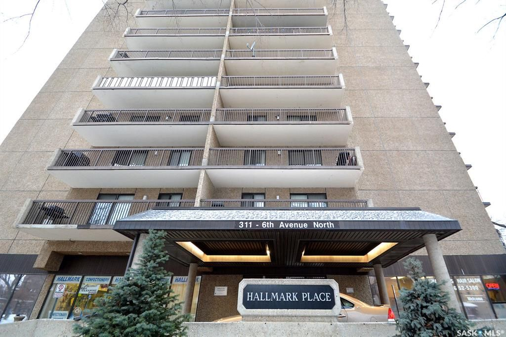 Main Photo: 403 311 6th Avenue North in Saskatoon: Central Business District Residential for sale : MLS®# SK844772