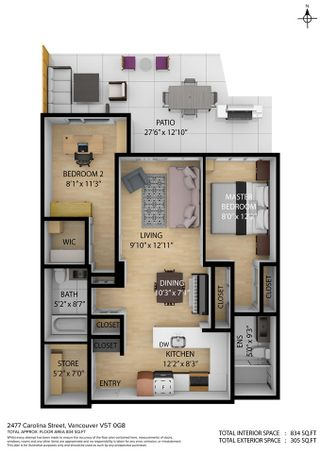 """Photo 36: 313 2477 CAROLINA Street in Vancouver: Mount Pleasant VE Condo for sale in """"The Midtown"""" (Vancouver East)  : MLS®# R2575398"""