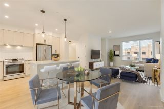 """Main Photo: 104 3021 ST GEORGE Street in Port Moody: Port Moody Centre Townhouse for sale in """"GEORGE"""" : MLS®# R2474134"""