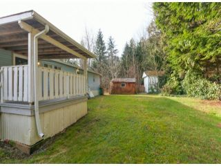 """Photo 18: 26 10221 WILSON Road in Mission: Stave Falls Manufactured Home for sale in """"TRIPLE CREEK ESTATES"""" : MLS®# F1428351"""