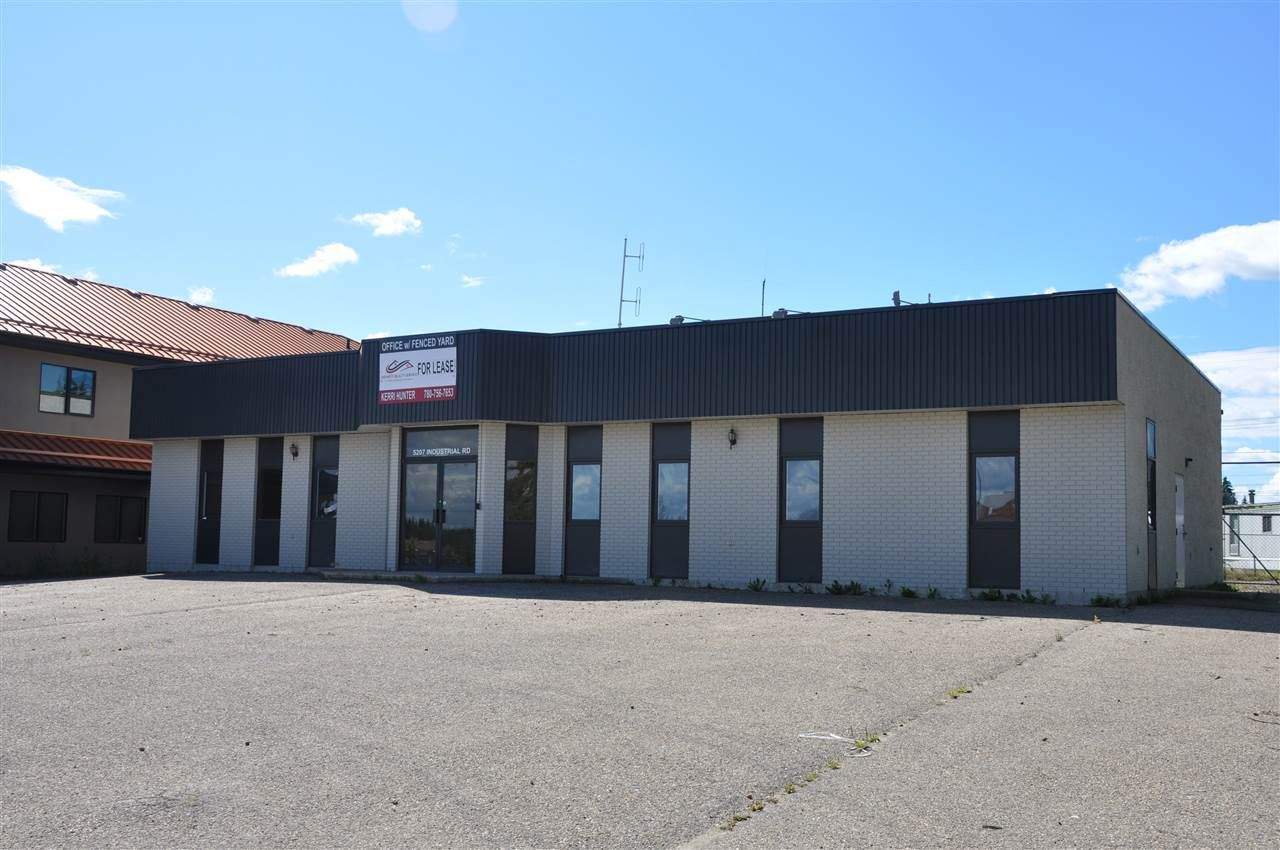 Main Photo: 5207 Industrial Rd: Drayton Valley Office for sale : MLS®# E4235283