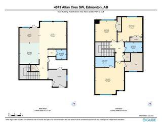 Photo 45: 4073 ALLAN Crescent in Edmonton: Zone 56 House Half Duplex for sale : MLS®# E4256367