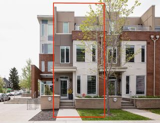 Photo 2: 2001 1 Avenue NW in Calgary: West Hillhurst Row/Townhouse for sale : MLS®# A1147400