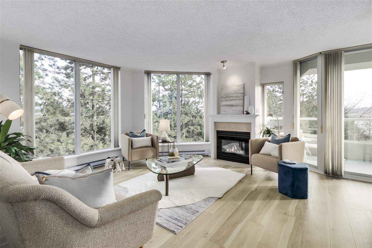 """Main Photo: 405 71 JAMIESON Court in New Westminster: Fraserview NW Condo for sale in """"Palace Quay"""" : MLS®# R2543088"""