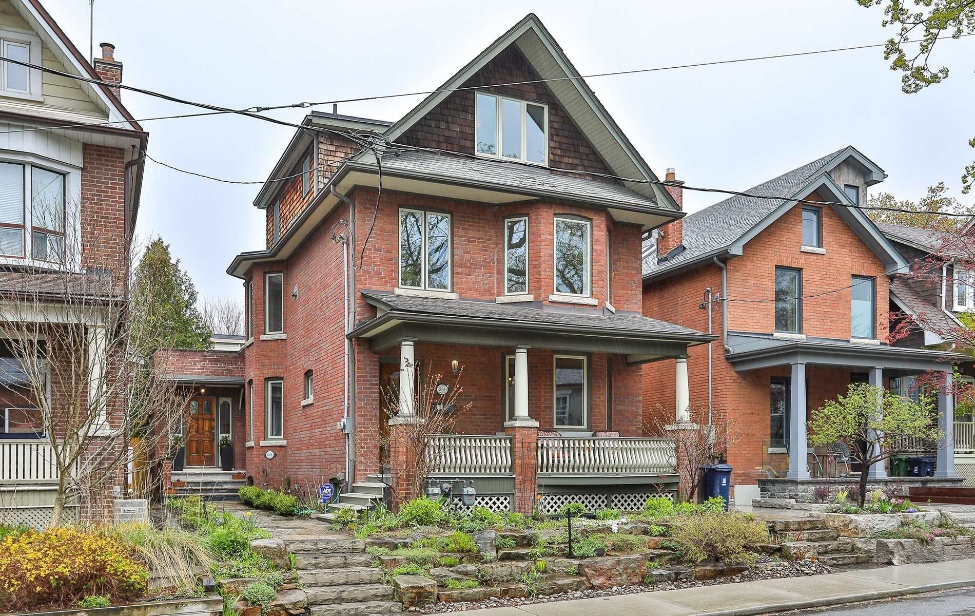 Main Photo: 236 Bain Avenue in Toronto: North Riverdale House (3-Storey) for sale (Toronto E01)  : MLS®# E4760020