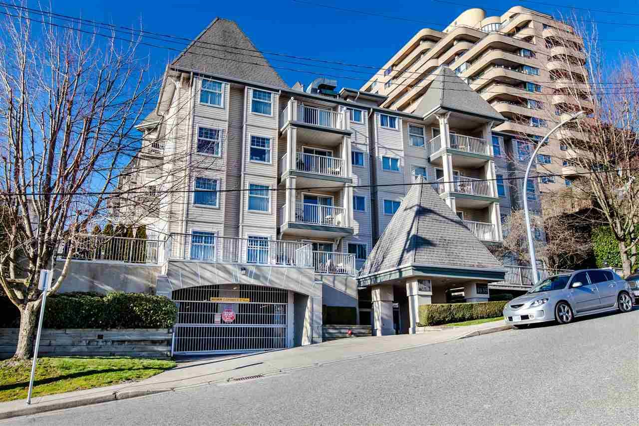 """Main Photo: 209 1035 AUCKLAND Street in New Westminster: Uptown NW Condo for sale in """"QUEEN'S TERRACE"""" : MLS®# R2438580"""