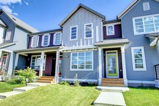 Photo 2: 311 Carringvue Way NW in Calgary: Carrington Row/Townhouse for sale : MLS®# A1151443