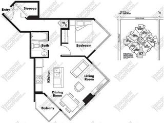 """Photo 20: 808 1212 HOWE Street in Vancouver: Downtown VW Condo for sale in """"1212 HOWE"""" (Vancouver West)  : MLS®# V1103940"""