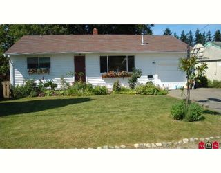"""Photo 1: 2779 VICTORIA Street in Abbotsford: Abbotsford West House for sale in """"CLEARBROOK"""" : MLS®# F2727535"""