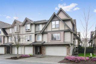 """Photo 1: 4 5556 PEACH Road in Chilliwack: Vedder S Watson-Promontory Townhouse for sale in """"THE GABLES AT RIVERS BEND"""" (Sardis)  : MLS®# R2448594"""