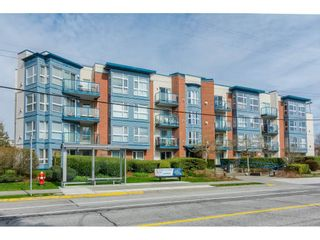 """Photo 1: 407 20277 53 Avenue in Langley: Langley City Condo for sale in """"THE METRO II"""" : MLS®# R2466451"""