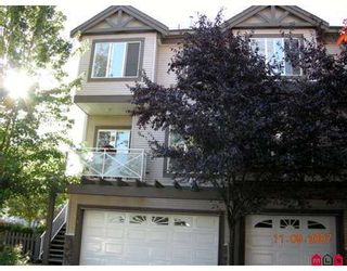 """Photo 1: 1 15133 29A Avenue in White_Rock: King George Corridor Townhouse for sale in """"Stonewoods"""" (South Surrey White Rock)  : MLS®# F2723566"""
