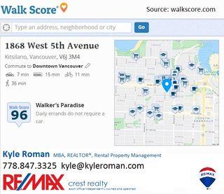 """Photo 29: 106 1868 W 5TH Avenue in Vancouver: Kitsilano Condo for sale in """"GREENWICH"""" (Vancouver West)  : MLS®# R2476894"""
