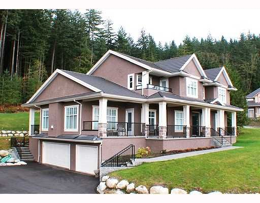 Main Photo: 768 SUNSET Road: Anmore House for sale (Port Moody)  : MLS®# V743321