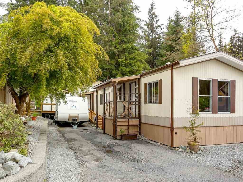 """Main Photo: 48 3295 SUNNYSIDE Road: Anmore Manufactured Home for sale in """"COUNTRYSIDE ESTATES"""" (Port Moody)  : MLS®# R2229877"""
