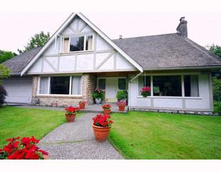 Photo 1: 610 SOUTHBOROUGH Drive in West_Vancouver: British Properties House for sale (West Vancouver)  : MLS®# V777094