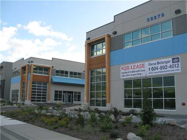 Main Photo: 105 39279 QUEENS Way in : Business Park Commercial for sale (Squamish)  : MLS®# V4032060