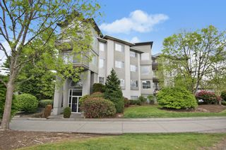 """Photo 1: 303 32725 GEORGE FERGUSON Way in Abbotsford: Abbotsford West Condo for sale in """"THE UPTOWN"""" : MLS®# R2578786"""
