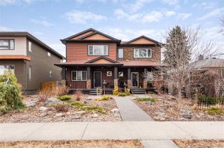 Photo 1: 9508 70 Avenue in Edmonton: Zone 17 House Half Duplex for sale : MLS®# E4236886