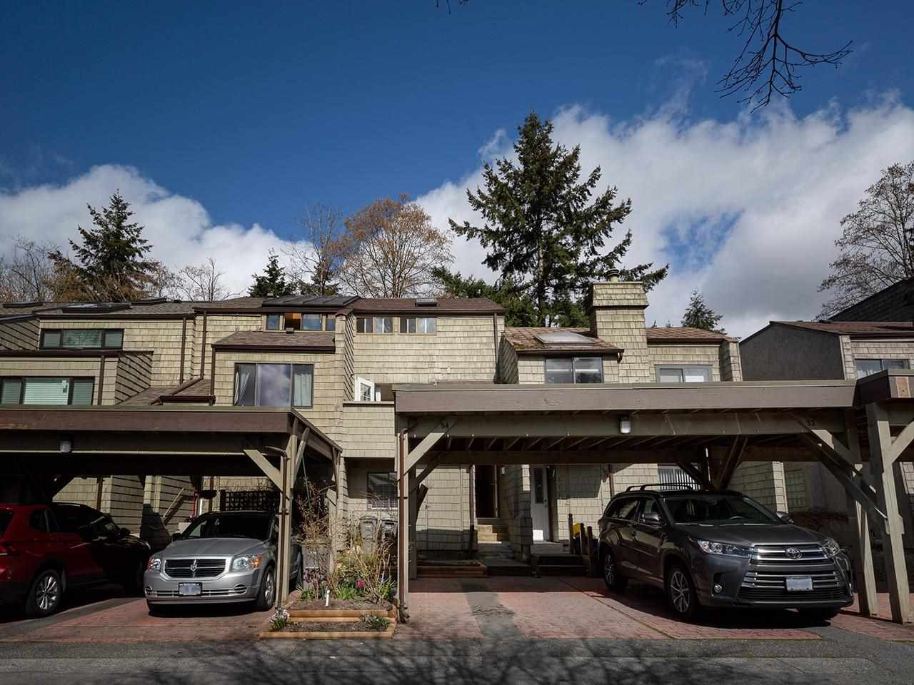 Main Photo: 8123 LAVAL Place in Vancouver: Champlain Heights Townhouse for sale (Vancouver East)  : MLS®# R2588528