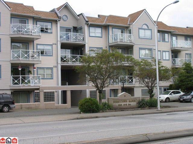 """Main Photo: 322 12101 80TH Avenue in Surrey: Queen Mary Park Surrey Condo for sale in """"Surrey Town Manor"""" : MLS®# F1214603"""