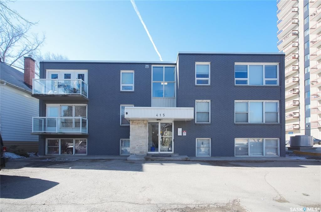 Main Photo: 204 415 3rd Avenue North in Saskatoon: City Park Residential for sale : MLS®# SK854790