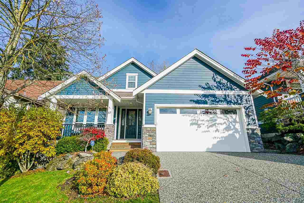 Main Photo: 53 3800 GOLF COURSE Drive in Abbotsford: Abbotsford East House for sale : MLS®# R2417972