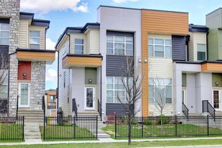 Photo 1: 207 1530 Bayside Avenue SW: Airdrie Row/Townhouse for sale : MLS®# A1107949