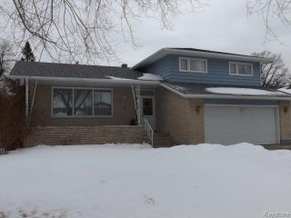 Photo 1: 16 Litz Place in WINNIPEG: East Kildonan Residential for sale (North East Winnipeg)  : MLS®# 1501673